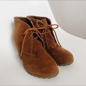 Wedge Desert Boots
